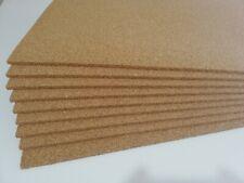 Sughero supercompresso a vista  10 mm. pacco da 15 pannelli 100 x 50 grana fine