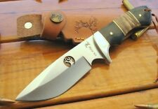 ELK RIDGE - Burl Wood Full Tang DROP POINT Bowie - Hunting Knife EXPRESS POST!