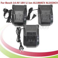 Lithium Li-Ion Battery Charger 2.0A For Bosch 14.4V 18V Li-ion AL1860CV AL1820CV