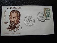 spain - envelope 1st day 22/2/1977 (cy24) spain