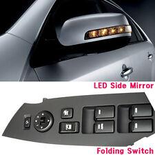 LED Side Mirror + Folding Switch Assembly For 10 11 12 Kia Sorento R