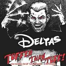 THE DELTAS Tuffer Than Tuff CD + Live & Rockin - Rockabilly - NEW - Psychobilly