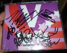 V SIGNED CAN YOU FEEL IT CD PROMO SINGLE POP MUSIC AUTOGRAPH 100% GENUINE