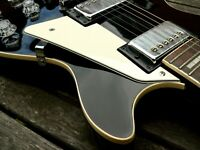 Cream Zebra 3 ply Scratchplate Pickguard + bracket for Gibson Les Paul LP guitar