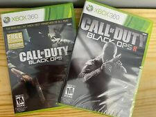 Call of Duty Black Ops 2 Game COMBO Xbox 360 BRAND NEW! Y FOLD FACTORY SEALED!