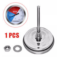 300℃ 2''Stainless Steel Barbecue BBQ Smoker Grill Thermometer Temperature Gauge