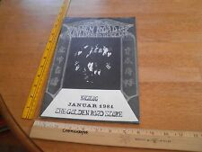 The Golden Road West Germany Rock Music store catalog 1981 posters concert Clash