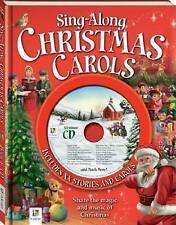 Sing-along Christmas Carols Book and Cd by Hinkler Books (Hardback, 2012)