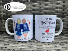 Two Best Friends Personalised Mug Birthday Gift