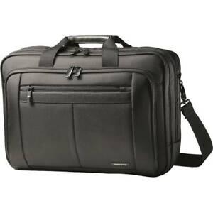 """Samsonite - Classic Briefcase for 17"""" Laptop - Black"""