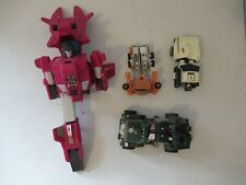 Transformers G1 vintage lot of figures parts pieces for REPAIRS CUSTOMIZING