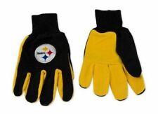 Pittsburgh Steelers Gloves Utility Work Sports NFL Winter No Slip Football Team