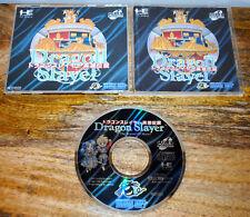 Jeu DRAGON SLAYER sur NEC PC ENGINE CD-ROM (complet, import Jap) NTSC