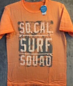 """New The Children's Place """"SOCAL SURF SQUAD"""" Boys Graphic T-Shirt Size XL (14)"""