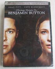 2DVD L'ETRANGE HISTOIRE DE BENJAMIN BUTTON - Brad PITT / Cate BLANCHETT - NEUF