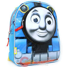 "Thomas Tank Engine 3D Face School Backpack 12"" Boy's  Bag"