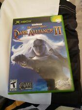 Baldur's Gate: Dark Alliance II (Microsoft Xbox, 2004)complete with manual
