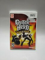 Nintendo Wii Game: Guitar Hero World Tour - Complete with Manual! Tested/Working