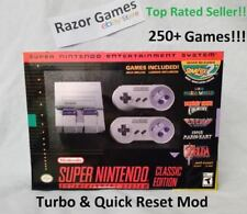 250+ Game SNES Super Nintendo Classic Mini! All Cover Art Included! Mod