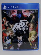 Persona 5 -PS4- Replacement Case *NO GAME*