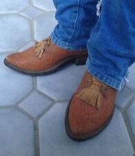 Tall Vintage Jack Rowin Custom Handmade Buckaroo Cowboy Packer Boots