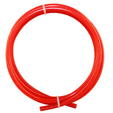 """Kühlschrankschlauch rot 6,4 mm 1/4"""" Wasserschlauch Side by Side Osmose 3 Meter"""