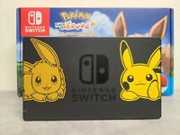 Nintendo Switch Pokemon Dock - Let's Go Pikachu Eevee - Free Shipping US/CAD