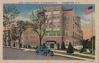 Postcard The Chalfonte Apartments Washington DC