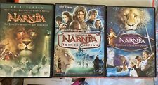 The Chronicles of Narnia, Dvd Trilogy 3 Movies, Include Spanish Audio Like New