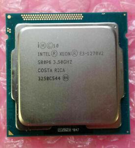 Intel Xeon e3-1270v2 SR0P6 3,50ghz LGA1155 Processeur