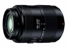 Panasonic Zoom Lens Lumix G VARIO 45-200mm/F4.0-5.6 II ASPH./POWER O.I.S New