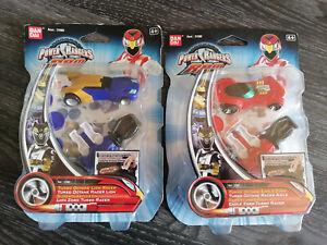 2 Stck. Power Rangers RPM Turbo Octane Lion Racer/Eagle Zord Sammler - NEU
