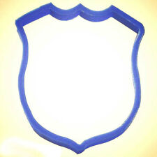 Police Badge Cookie Cutter 4 in PC0156 - By CookieCutter.Com - USA Made