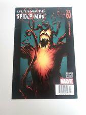 Ultimate Spiderman 60 VF Newsstand Variant Rare 1st Ultimate Carnage Marvel