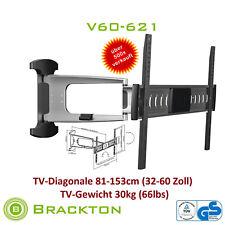 NOIR FRIDAY Support mural TV v60-621 32-60 pouces LED LCD PLASMA VESA 600 x 400