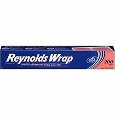 Reynolds Wrap Aluminum Foil Food and cooking protection (200 Square Foot Roll)