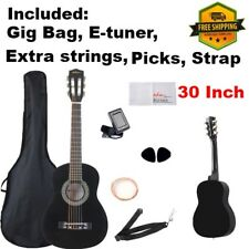 Kids Acoustic / Classical Guitar 30 Inch Beginner with Carrying Bag Accessories