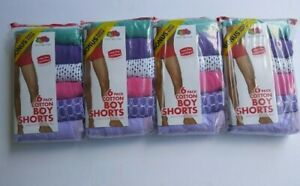 Fruit of the Loom Boy Shorts Select 3 Pairs  Microfiber  Mulit Colored Sz 6//7