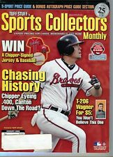 AUGUST 2008 CHIPPER JONES COVER SPORTS COLLECTORS MONTHLY 5 SPORT PRICE GUIDE