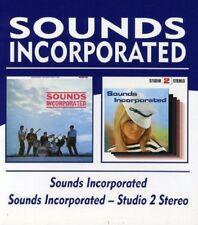Sounds Incorporated Sounds Incorporated/Studio 2 Stereo 2on1 CD NEW SEALED