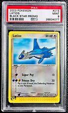 Pokemon 2003 PSA 9 'Latios' #15 Black Star Promo Non-Holo E-Reader