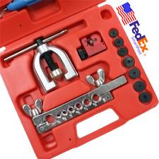 INCH / MM Dual Single Flaring Brake Line Tubing Kit Pipe Cutter Car Repair Tool