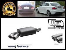 SILENCIEUX POT D'ECHAPPEMENT BMW E82 118d 120d 2007-2013 2014 2015 2016 TIP 2x70