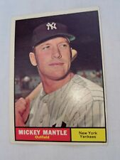 1961 Topps Mickey Mantle #300 Yankees Great HOF Nice Condition