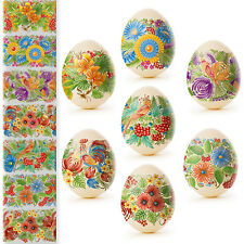 Easter Egg Wraps for 7 Hen Eggs, Pysanka, Pysanky Eggs Heat Shrink Sleeves,#39
