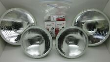 Ford Falcon AU XR6 XR8 Set of 4 High/Low 7 and 5 inch Headlights Globes & Clips