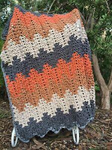 Crochet Handmade Toddler, Baby Blanket/Throw. Car, Cot, Bassinet.