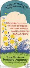 Carte Parfumée SALANCY Fougère  - scented cards - perfume cards