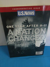 U.S. NEWS-WORLD REPORT-11/11/2002-0NE YEAR AFTER9/11-A NATION CHANGED SPEC.ISSUE
