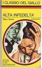I CLASSICI DEL GIALLO N° 150 AUTORE ELLERY QUEEN TIT. ALTA INFEDELTA'